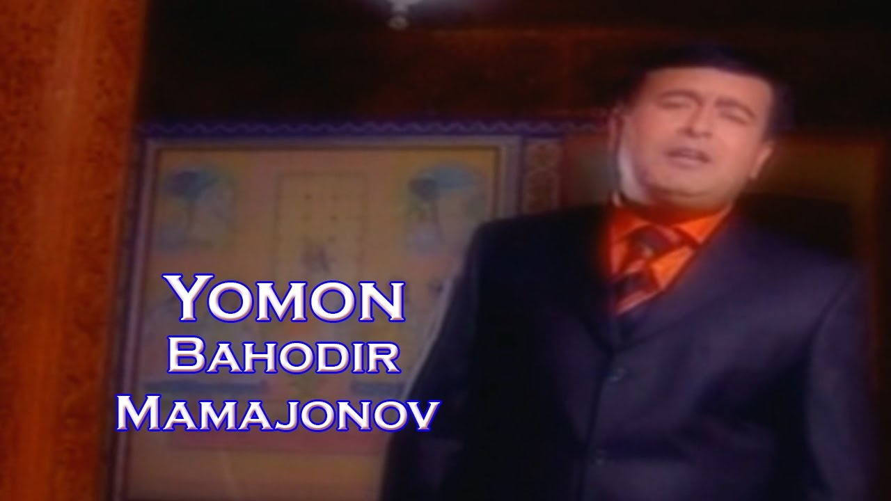 Bahodir Mamajonov   Yomon  (Video Klip Tasixda)