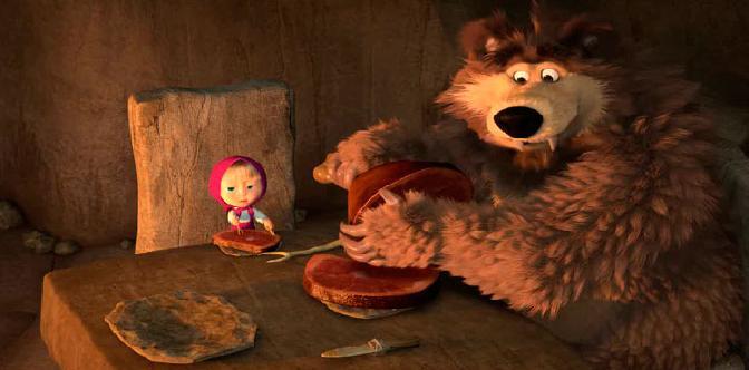 Маша и Медведь  Пещерный медведь