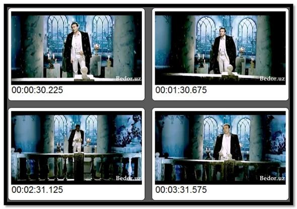 Ozodbek Nazarbekov   Seni o`ylab  Video Klip (Tasixda)