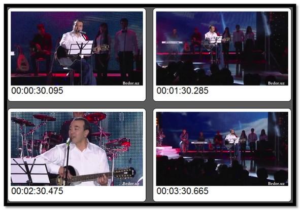 Ozodbek Nazarbekov   Sening ishqinda Video Klip (Tasixda)