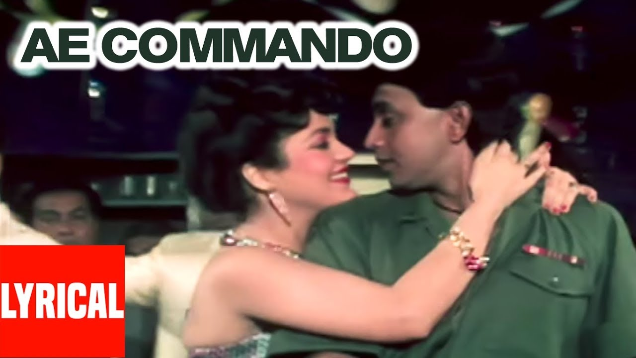 Commando Commando — Vijay Benedict, Alisha Chinai — Commando 1988 Songs — Mithun, Mandakini (Video Klip) Tasixda