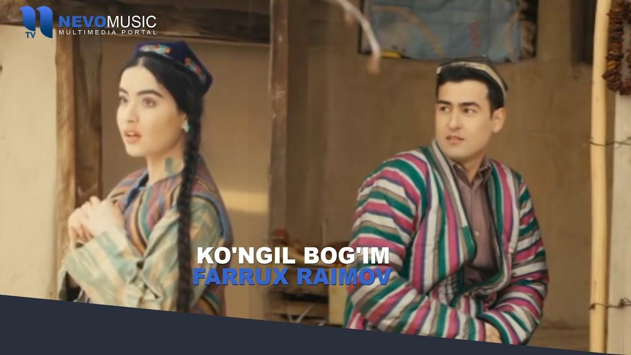 Farrux Raimov — Ko'ngil bog'im (Video Klip Tasixda)