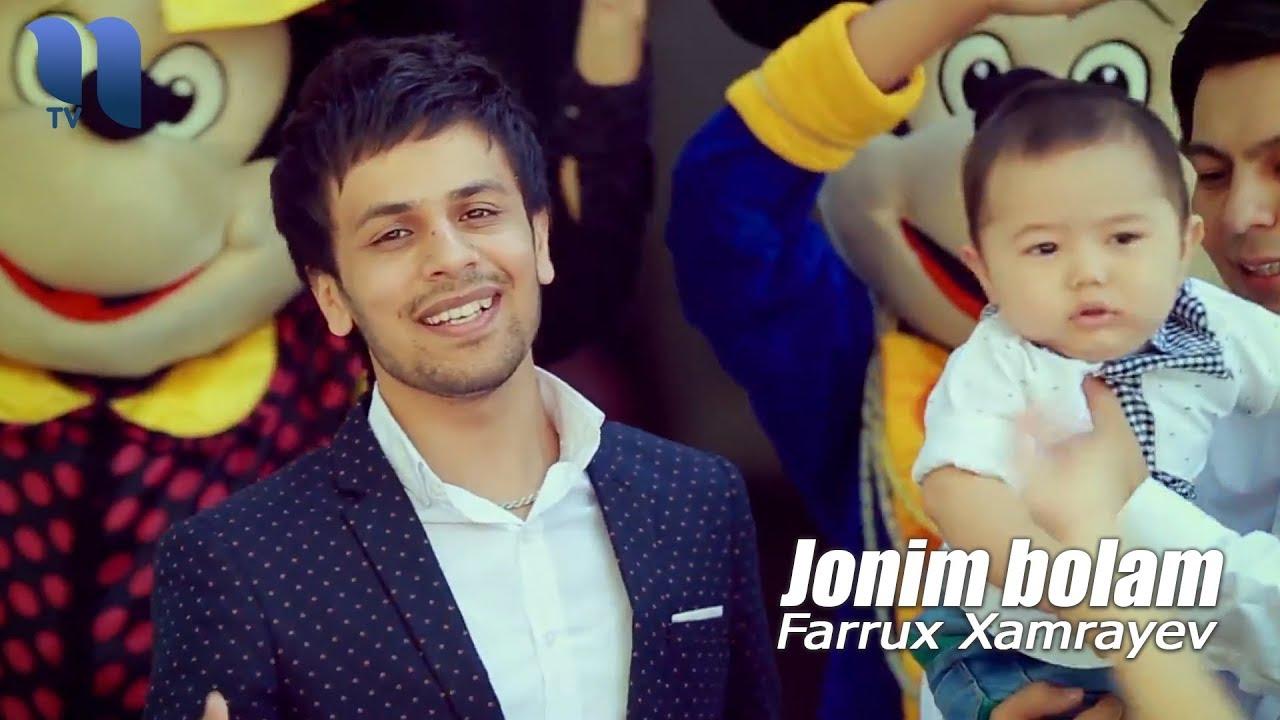 Farrux Xamrayev — Jonim bolam (Video KLip Tasixda)