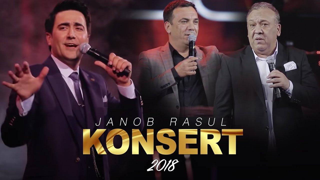 Janob Rasul — 2018-yilgi konsert dasturi (Tasixda)