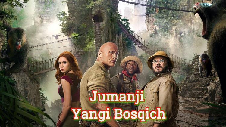 Jumanji Yangi Bosqich — Horij Film O`zbek Tilida