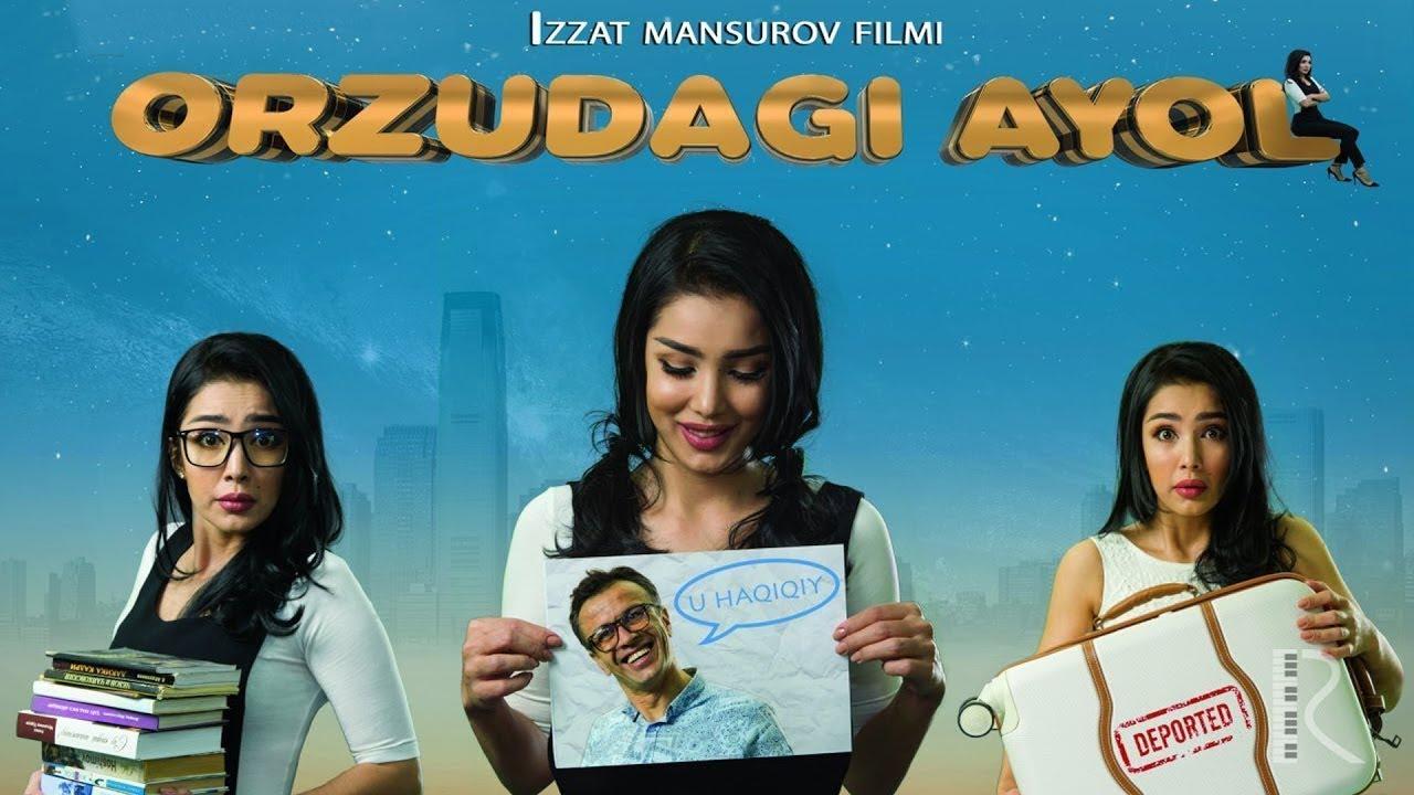 Orzudagi  Ayol  O`zbek film (Tasixda)