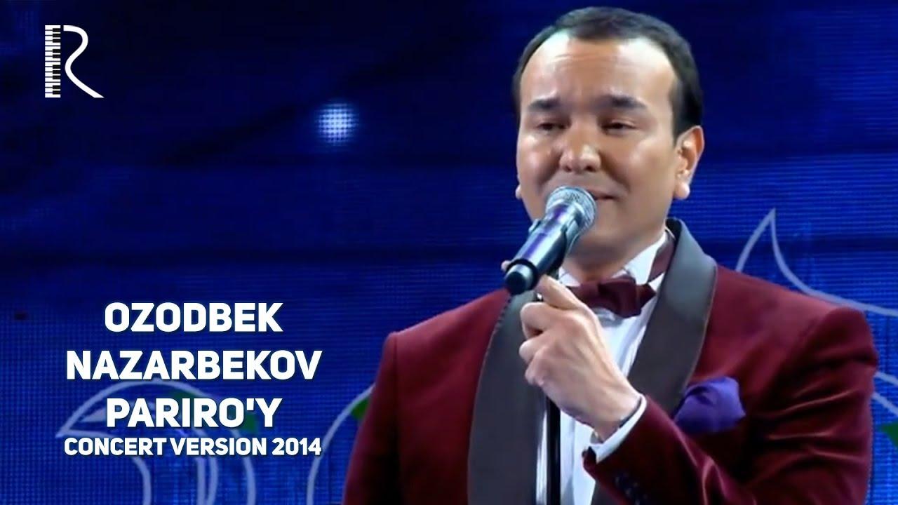 Ozodbek Nazarbekov  Pariro'y (jonli) Video Klip (Tasixda)