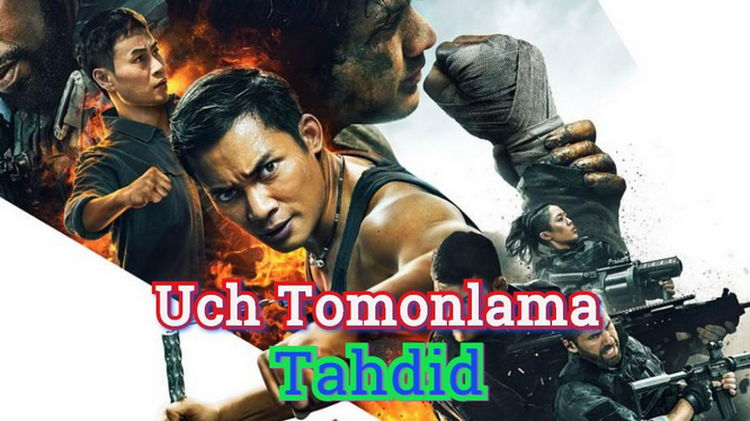 Uch Tomonlama Tahdid — Horij Film O`zbek tilida