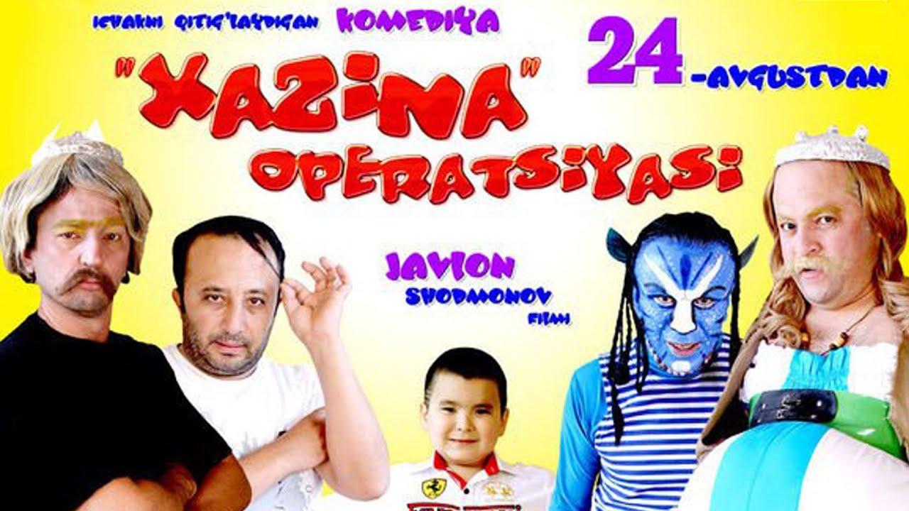 Xazina Operatsiyasi O`zbek film  (Tasida)