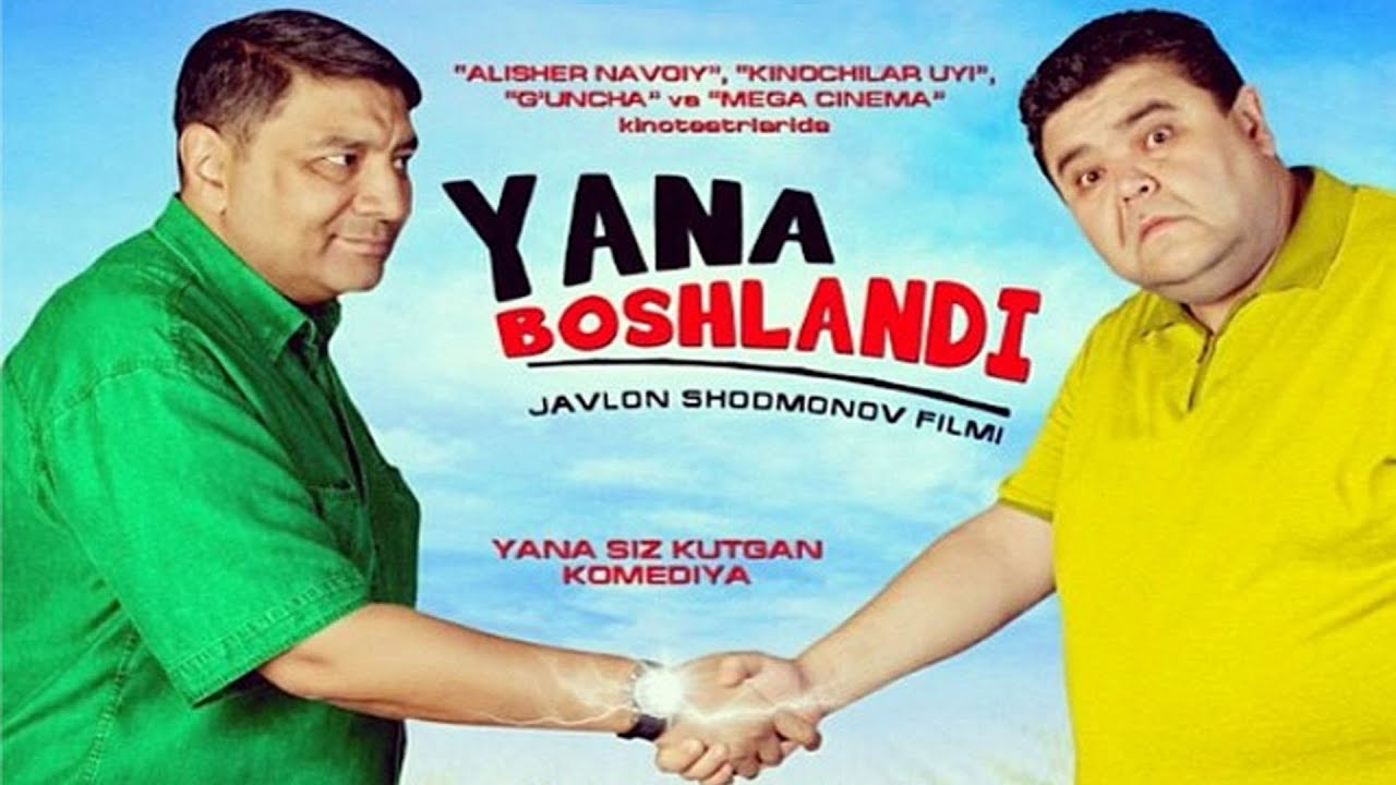 Yana Boshlandi  O`zbek film (Tasixda)